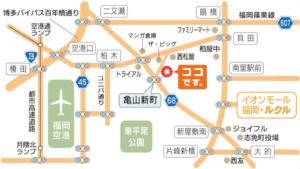松崎からだ回復センター地図